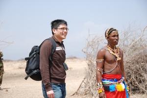 Me and Maisai Ranger