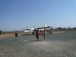 Landing and Taking off in Africa